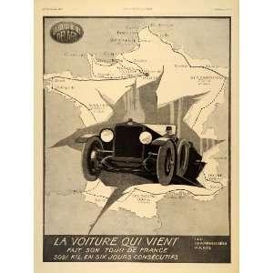 Ad French Delage Luxury Car Racing Automobile Deco   Original Print Ad