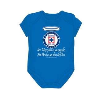 Cruz Azul Orgullo Blue Bodysuit Size 6M