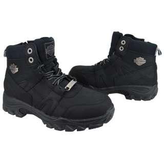 NEW Harley Davidson Runaway Black Mens Boots