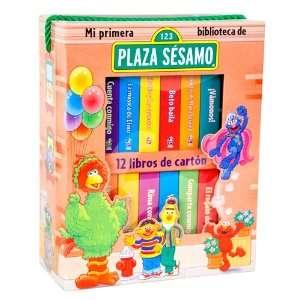12 Libros de Carton Plaza Sesamo (9781412766173) Books
