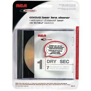 RD1141 CD/DVD LASER LENS CLEANERS (1 BRUSH; DRY) Electronics