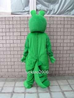 Lovely Crocodile Mascot Costume Cartoon Fancy Dress