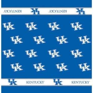 54 x 54 Collegiate Team Table Cloth Card Team Kentucky