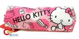 Sanrio Hello Kitty Pink Canvas Pencil Case 2
