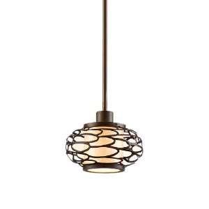 Cesto Collection 1 Light 7 Napoli Bronze Mini Pendant
