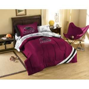Southern Illinois Twin Bed in a Bag Set (College) Sports