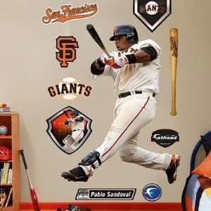 Pablo Sandoval San Francisco Giants Fathead NIB