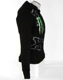 Fox Monster Ricky Carmichael Faux Fur Lined Hooded Sweatshirt Hoodie