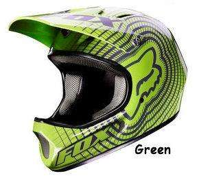 Rampage DH MTB Helmet Cycle Small Green Mountain Bike Full Face