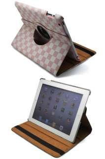New iPad 2 360° Stylish Rotating Smart Cover case colour 4