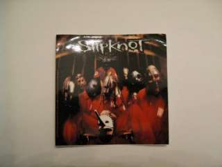CLOSEOUT Slipknot album cover sticker