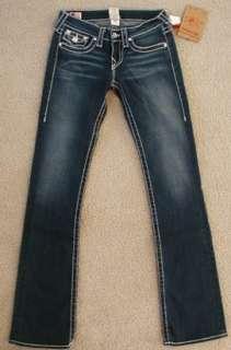 NWT True Religion Disco Becky big T jeans Dakota sky DK
