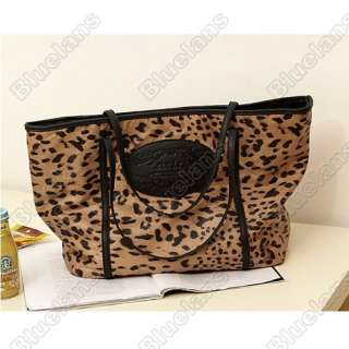 Large Capacity Ladies All match Single Shoulder Bag Sexy Leopard