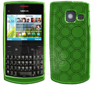 Green Hydro Series Gel Case Skin For Nokia X2 01 + Film