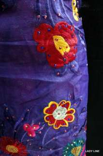 PATIALA SALWAR ELEGANT EMBROIDERY GARHWAL KAMEEZ MATERIAL(Stitching
