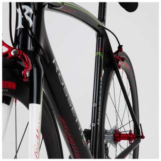 Rossetti Diablesse Black 52cm  Sram Red Black  Carbon Wheels