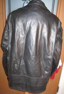 Classic Harley Davidson Black Shovelhead Leather Jacket Size XXXLH/D
