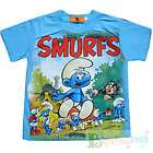New ARRIVAL THE SMURFS CUDDY Clumsy Edition Stylish Boys T shirt Top