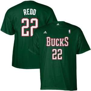 NBA adidas Milwaukee Bucks #22 Michael Redd Green Net