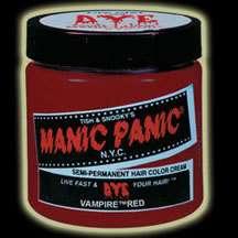 MANIC PANIC Hair Dye   VAMPIRE RED Punk Goth Cyber Glam