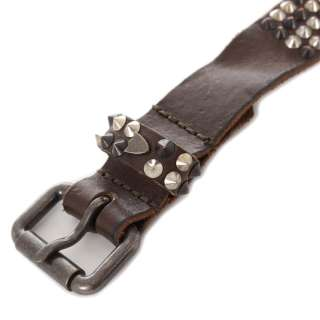 HTC Hollywood Trading Company New man Studded ICONICS 4 ROOMS Belt sz
