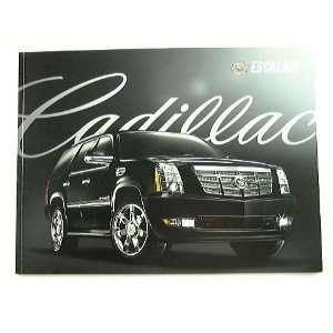 2009 09 Cadillac ESCALADE Truck SUV BROCHURE EXT ESV