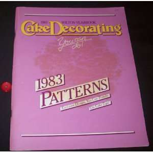 Wilton Yearbook of Cake Decorating Patterns Wilton Enterprises Books