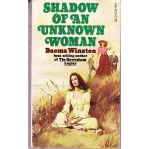 Shadow of an Unknown Woman (9780671803117) Daoma winston Books