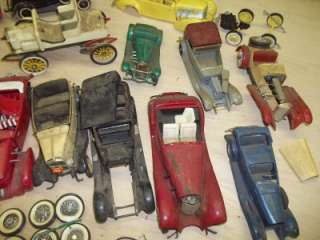 Vintage 1950 60S Model Car Junkyard Lot TONS OF PIECES 3