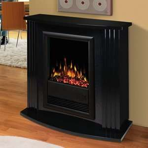 Electrolog by Dimplex Electraflame Mozart Electric Fireplace in Gloss