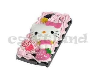 Strawberry Hello Kitty Case Cover For Sony Ericsson Xperia ARC S X12