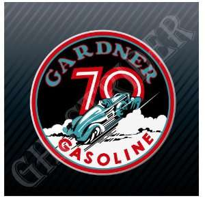 Gardner Gasoline Racing Fuel Pump 70s Vintage Sticker