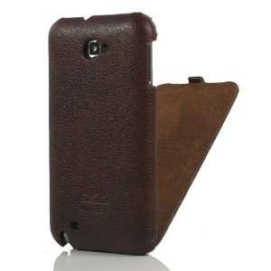 Leather Flip Case / Cover / Skin / Shell For Samsung Galaxy Note