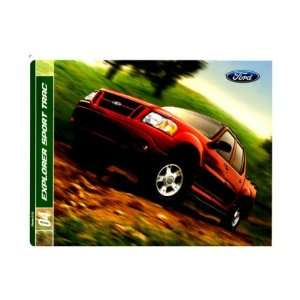 : 2004 FORD EXPLORER SPORT TRAC Sales Brochure Book Piece: Automotive
