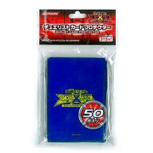 Zexal Official Konami Duelist Card Sleeve 50ct Blue Toys & Games