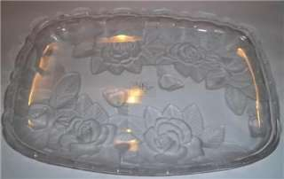 WINTER ROSE by STUDIO NOVA CRYSTAL 11.5 Tray