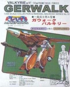 Nichimo Robotech Macross Gerwalk VF 1A Valkyrie 1/200