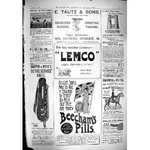 1900 Advertisement Lemco Beechams Pills Mappin Webb Field