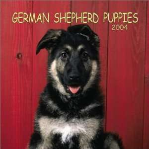 German Shepherd Puppies 2004 Calendar (9780763169282