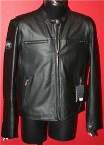 Harley Davidson Leather Vintage Skull Jacket 97035 11VM NWT Mens Size