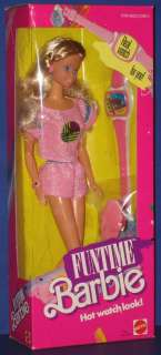 FUN TIME Barbie Doll in Pink Mattel 1987 NRFB!