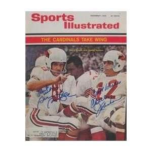 Charlie Johnson & Sonny Randle autographed Sports Illustrated Magazine