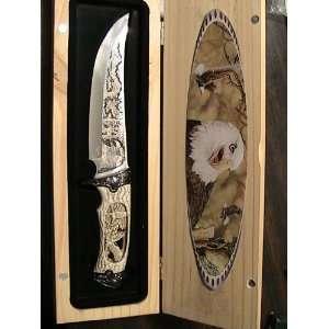 Elk Ridge Collector Knife 6 1/2 BLADE WITH BOX PK 8212E