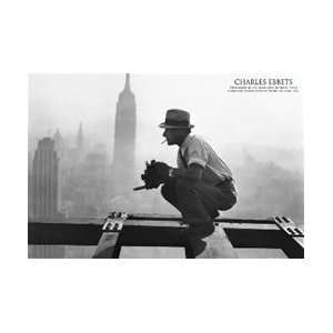 NY RKO Building Charles Ebbets Poster: Home & Kitchen