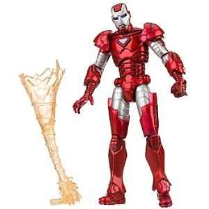 Disney Silver Centurian Iron Man Action Figure    3 3/4