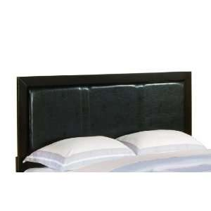 Homelegance Caldwell Dark Brown Faux Leather Headboard