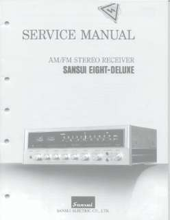 130+ SANSUI SERVICE MANUAL SCHEMATICS REPAIR PDF EBOOK
