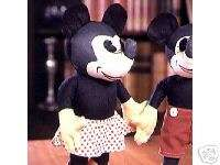 Disney Minnie Mouse Antique Reproduction Cloth Doll New