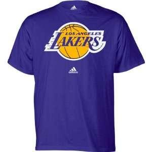 Los Angeles Lakers adidas Kids (4 7) Primary Logo Short Sleeve T Shirt