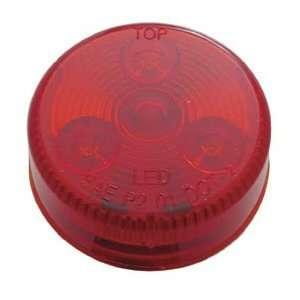 Red 4 LED 2 Truck Trailer Side Marker Clearance Light Kit